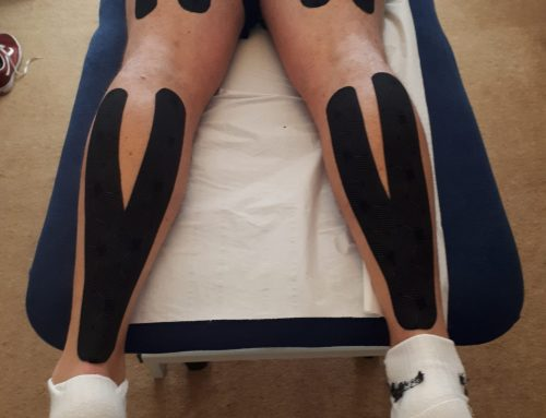 K-tape – What is it and why might an Osteopath use it?